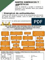 Antiox. Sintéticos y Sinérgicos