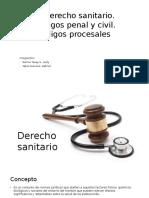 6. El-Derecho-sanitario, Codigo Civil, Penal y Codigos Procesales