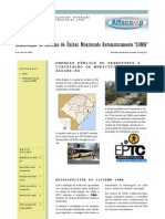 Boletim Informativo V2E1 - EPTC Porto Alegre