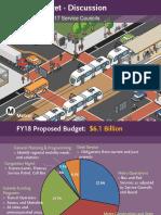 FY 2017-18 Budget Presentation