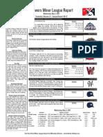 5.3.17 Minor League Report