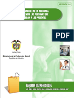 Adecuada Comunicacion Entre Ptes y Personal de Salud