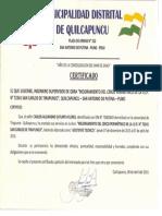 Certificado Carlos