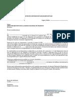 Formato Anexo 1 Convenio de Pago Normal