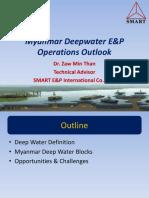 4.Myanmar Deepwater E&P Operations Outlook_Dr.zawminThan