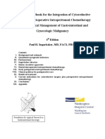 Technical Handbook for Prevention and Treatment of Peritoneal Surface Malignancy