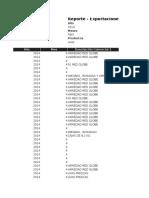 Reporte - Exportaciones14