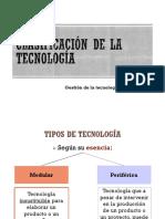 Clasificación de La Tecnología