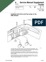 Service Manual Supplement Front Bumper VNL, VNM