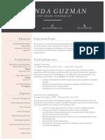 amanda guzman resume