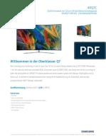 Samsung QLED 49Q7C Datenblatt