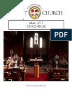 Christ Church Eureka May Chronicle 2017