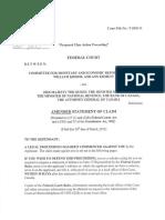 Comité sur la Réforme Économique et Monétaire c. Canada (Déclaration modifiée)