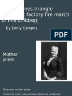 mother jones triangle shirtwaist factory fire march of mill children