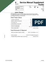Service Manual Supplement Hood VN