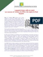 La Justice espagnole donne enfin un espoir aux millions de victimes du FPR et du régime de Paul Kagame