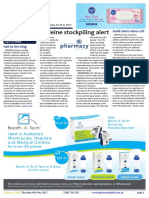Pharmacy Daily for Thu 04 May 2017 - Codeine stockpiling alert, New era for Sigma Healthcare, Pharmacy education key - FIP, Travel Specials and much more