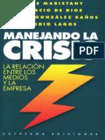 Libro Manejando La Crisis