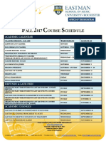 Fall 2017 Academic Schedule 032017