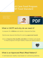 child and adult care food program  cacfp  guidelines