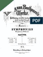 Beethoven, 3rd. Symphony, Score
