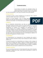 Informe IX - Fundamento & Marco Teórico & Materiales (Motor y Contactores)