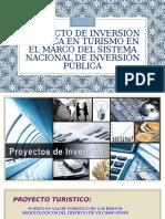 Proyecto de Inversión Pública en Turismo en El