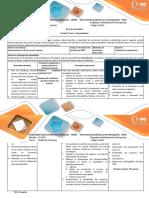 Guia de Actividades y Rúbrica de Evaluación Fase 4. Comprobación