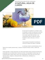 Anti-Ansiedad Natural_ Agua de Lavanda Con Limón - Barcelona Alternativa