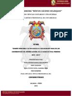EVASION TRIBUTARIA Y SU INFLUENCIA EN LA RECAUDACION FISCAL DE LOS CONTRIBUYENTES DEL REGIMEN GENERAL DE LA CIUDAD DE PUNO PERIODO 2013-2014.pdf