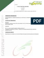 CLASSIFICAÇÃO 2ª ETAPA - 2ª VOLTA PORTUGAL MASTERS