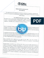 Proyecto Resolución Revocatoria de Mandato