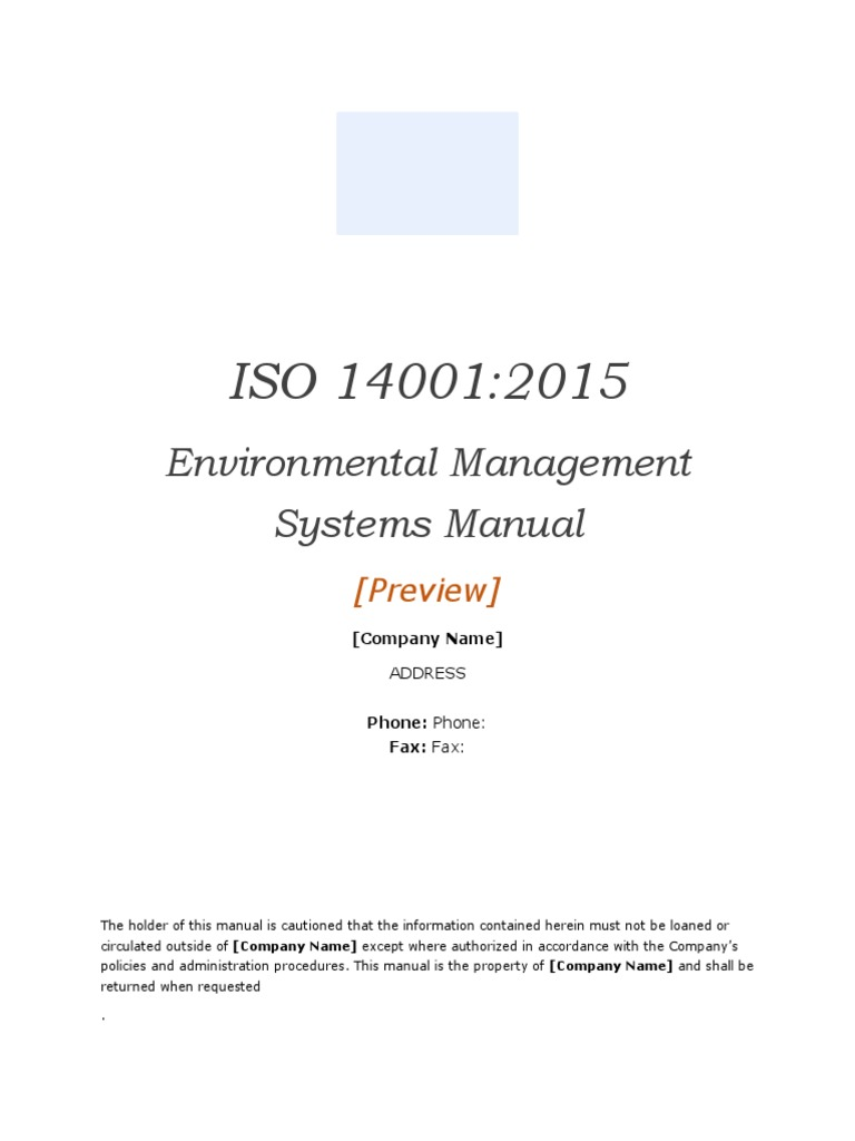 Iso 140012015 environmental management system manual template iso 140012015 environmental management system manual template preview business economies maxwellsz