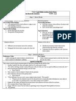 psychologylearningplanaffluenza docx