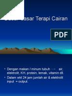 DASAR-dasar Terapi Cairan