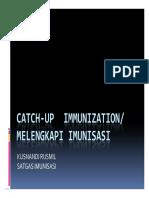 Catch Up Immunization