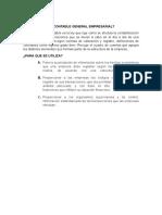 Qué Es El Plan Contable General Empresarial