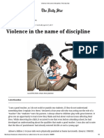 Violence in the Name of Discipline _ the Daily Star