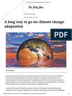 A Long Way to Go on Climate Change Adaptation _ the Daily Star