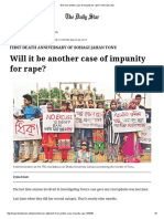 Will It Be Another Case of Impunity for Rape_ _ the Daily Star