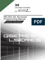 MITSUBISHI QL Structured Mode IEC Programming Manual Common Instructions