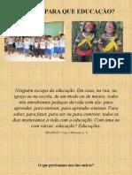 Educação e Pedagogia Como Pratica Socio Historica