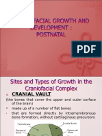 Craniofacial Growth and Development Postnatal