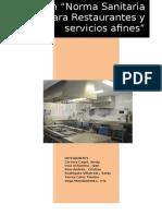 Restaurantes y Servicios Afines