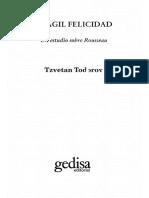 Todorov Tzvetan - Fragil Felicidad - Un Estudio Sobre Rousseau