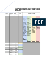 part d- evaluation criteria 5