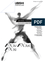 FX3G,FX3U,FX3UC Series Users Manual - Positioning Control Edition