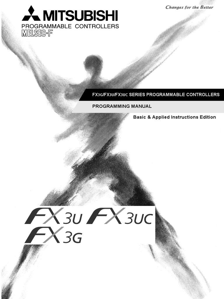 Fx3g Fx3u Fx3uc Series Programming Manual