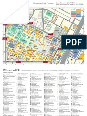 Map | University Of Southern California | Further Education