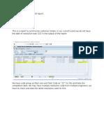 FS to Enhance ZR3CS_028 Report